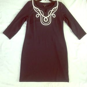 NWT Navy Blue Winter Dress by Talbots